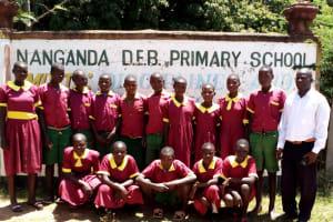 The Water Project: Nanganda Primary School -  School Entrance