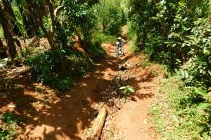 The Water Project: Ebutindi Community, Tondolo Spring -  Impassable Road To The Community