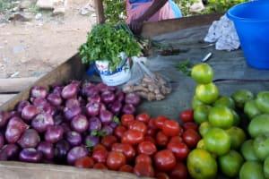 The Water Project: Chepnonochi Community, Shikati Spring -  Local Market