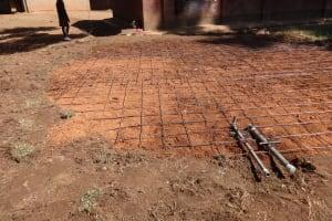 The Water Project: Irobo Primary School -  Tank Foundation