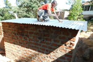 The Water Project: Esibila Secondary School -  Latrine Construction