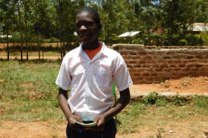 The Water Project: Namasanda Secondary School -  Ernest Aswani