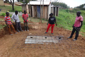 The Water Project: Shibinga Primary School -  Latrine Construction