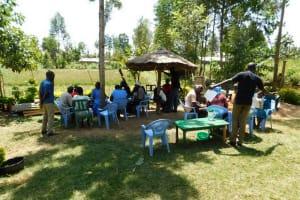 The Water Project: Mukangu Community, Lihungu Spring -  Training