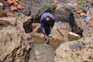 The Water Project: Emulakha Community, Nalianya Spring -  Spring Construction