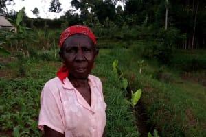 The Water Project: Chepnonochi Community, Shikati Spring -  Landowner Shikati Vuguza