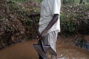 The Water Project: Shivembe Community, Murumbi Spring -  Laban Andati