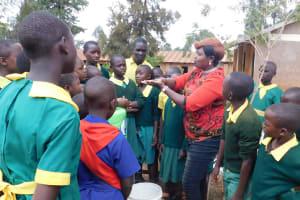The Water Project: Majengo Primary School -  Handwashing Training