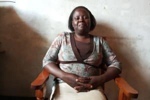 The Water Project: Kimangeti Primary School -  Teacher Bilha Kamwani
