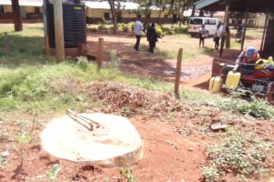 The Water Project: Kakamega Muslim Primary School -  Secondary School Well