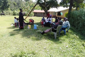 The Water Project: Rosterman Community, Kidiga Spring -  Dental Hygiene