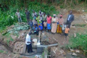 The Water Project: Ngeny Barak Community, Ngeny Barak Spring -  Training On Spring Care