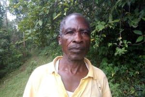 The Water Project: Kisasi Community, Edward Sabwa Spring -  Edward Sabwa