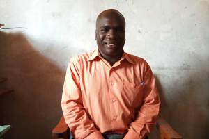 The Water Project: Kimangeti Primary School -  Teacher Ernest Opati