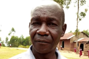 The Water Project: Kipchorwa Primary School -  Board Member Jackson Kivunaga