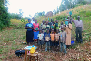 The Water Project: Ngeny Barak Community, Ngeny Barak Spring -  Group Picture