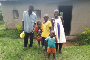 The Water Project: Buyangu Community, Osundwa Spring -  Emonyangwa Family