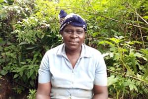 The Water Project: Chepnonochi Community, Shikati Spring -  Christine Gavalwa
