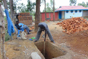 The Water Project: Matungu SDA Special School -  Sinking A Pit For Latrines