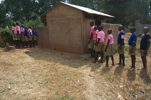 The Water Project: Kimangeti Primary School -  Latrines