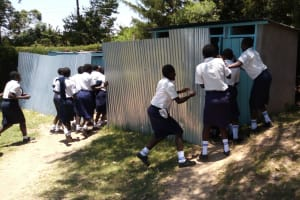 The Water Project: Gimariani Secondary School -  Latrines