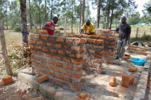 The Water Project: Matungu SDA Special School -  Latrine Construction
