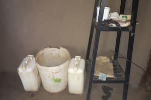 The Water Project: Buyangu Community, Osundwa Spring -  Water Storage