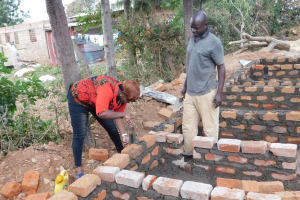 The Water Project: Lumakanda Township Primary School -  Latrine Construction