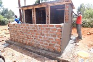 The Water Project: Majengo Primary School -  Latrine Construction