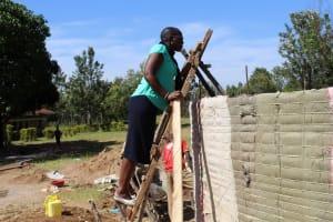 The Water Project: Khabukoshe Primary School -  Tank Construction