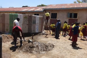 The Water Project: Shibinga Primary School -  Tank Construction