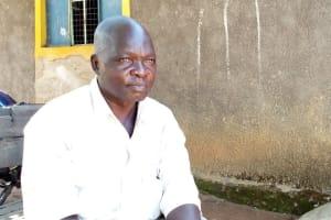 The Water Project: Nanganda Primary School -  Headteacher Harrison Tembu
