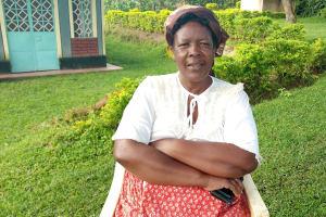 The Water Project: Shikangania Community, Abungana Spring -  Catherine Abungana