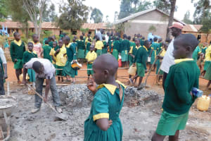 The Water Project: Majengo Primary School -  Cement