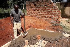 The Water Project: Bojonge Primary School -  Latrine Construction