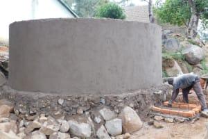 The Water Project: Esibila Secondary School -  Tank Construction