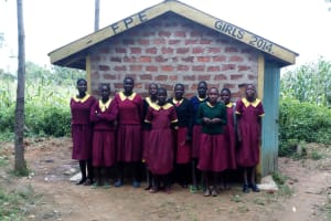 The Water Project: Nanganda Primary School -  Latrines
