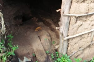 The Water Project: Sasala Community, Kasit Spring -  Inside Of Latrine