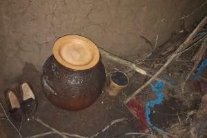 The Water Project: Buyangu Community, Osundwa Spring -  Drinking Water Pot