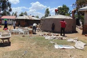 The Water Project: Matungu SDA Special School -  Tank Construction