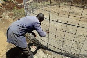 The Water Project: Bojonge Primary School -  Tank Construction