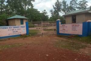 The Water Project: Kimangeti Primary School -  Entrance To The School