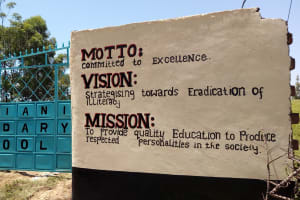 The Water Project: Gimariani Secondary School -  School Gate