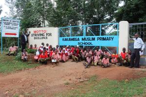 The Water Project: Kakamega Muslim Primary School -  School Gate