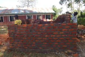 The Water Project: Irobo Primary School -  Latrine Construction