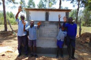The Water Project: Matungu SDA Special School -  New Latrines