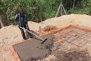 The Water Project: Musango Mixed Secondary School -  Latrine Foundation