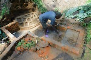 The Water Project: Ngeny Barak Community, Ngeny Barak Spring -  Spring Construction