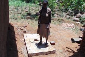 The Water Project: Musango Community, Mwichinga Spring -  Sanitation Platform