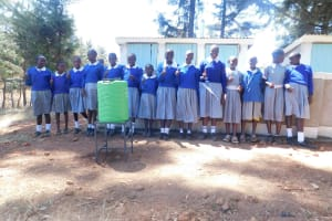 The Water Project: Lumakanda Township Primary School -  New Latrines And Handwashing Stations